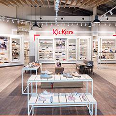 Les boutiques de chaussures pour enfants de marques Kids and Co